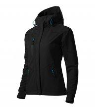 Nano softshellová bunda dámská, černá