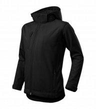 Performance softshellová bunda dětská, černá