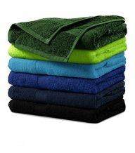 Terry Towel ručník unisex, lahvově zelená