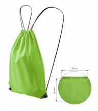 Energy gymsack sex/Kids, apple green
