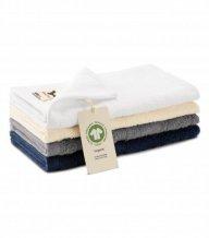 Organic malý ručník unisex, bílá