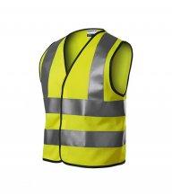 HV Bright bezpečnostní vesta dětská, reflexní žlutá