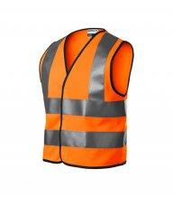 HV Bright bezpečnostní vesta dětská, reflexní oranžová