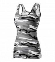 Camo Triumph tílko dámské, camouflage gray