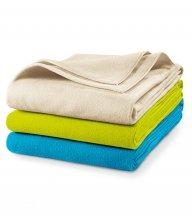 Blanky fleecová deka unisex, námořní modrá