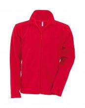 """Falco"" fleecová bunda, červená"