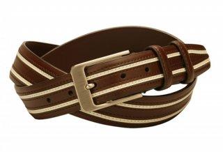 """""""Tessa"""" kožený pásek, hnědá"""