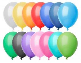 """""""CreaBalloon"""" balonky v pastelových barvách, vícebarevná"""