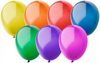 """""""CreaBalloon"""" balonky v lesklých barvách, vícebarevná"""