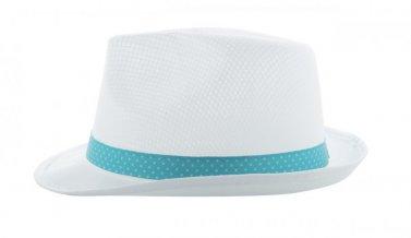 """""""Subrero"""" stuha se sublimací na klobouky, bílá"""