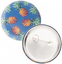 """PinBadge Maxi"" placka - odznak se špendlíkem, stříbrná"