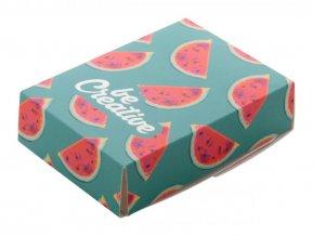 """""""CreaBox Mask A"""" krabičky na zakázku, bílá"""