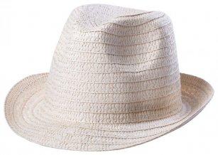 """""""Licem""""  klobouk, přírodní"""