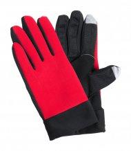 """""""Vanzox"""" dotykové sportovní rukavice, červená"""