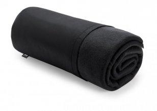 """""""Kayla"""" rPET fleecová deka, černá"""