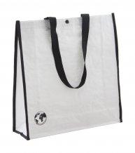 """""""Recycle"""" nákupní taška z recyklovaného materiálu, bílá"""