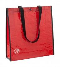 """""""Recycle"""" nákupní taška z recyklovaného materiálu, červená"""