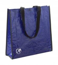 """""""Recycle"""" nákupní taška z recyklovaného materiálu, modrá"""