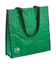 """""""Recycle"""" nákupní taška z recyklovaného materiálu, zelená"""