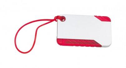 """""""Yeq"""" visačka na zavazadlo, červená"""