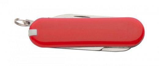 """""""Castilla"""" multifunkční kapesní mini nůž, červená"""