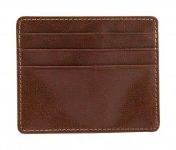 """""""Lex"""" peněženka s pouzdrem na 3 kreditní karty, hnědá"""