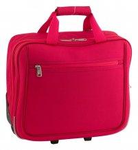 """""""Cubic"""" taška na kolečkách, červená"""