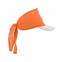 """""""Inlady"""" šátek s kšiltem, oranžová"""