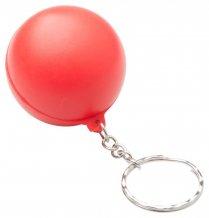 """""""Calm"""" antistresový přívěšek na klíče, červená"""
