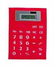 """""""Roll"""" ohebná kalkulačka, červená"""