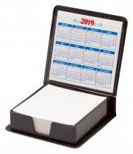 """""""Calendario"""" blok, černá"""