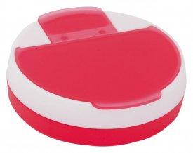 """""""Astrid"""" box na pilulky, červená"""