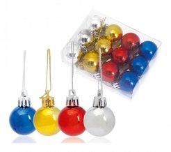 """""""Artball"""" dekorace na vánoční stromek, vícebarevná"""