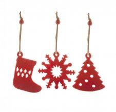"""""""Sensi"""" vánoční ministromek, červená"""