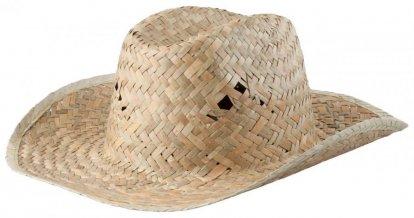 """""""Bull"""" slaměný klobouk, béžová"""