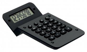 """""""Nebet"""" kalkulačka, černá"""