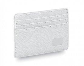 """""""Daxu"""" obal na kreditní karty, bílá"""