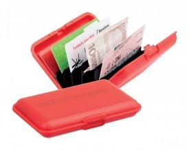 """""""Terun"""" obal na kreditní karty, červená"""