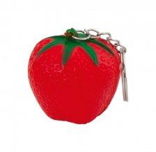 """""""Fruty"""" antistresový přívěšek na klíče, červená"""