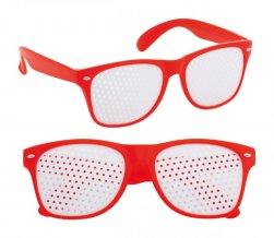 """""""Zamur"""" brýle na párty, červená"""