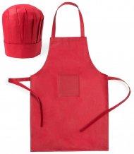 """""""Legox"""" kuchařský set pro děti, červená"""