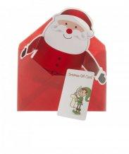 """""""Poxtal"""" vánoční přání, červená"""