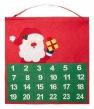 """""""Betox"""" adventní kalendář, červená"""