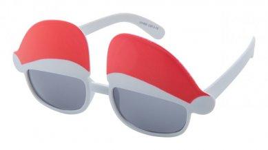 """""""Huntix"""" sluneční brýle s vánočním motivem, bílá"""