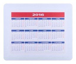 """""""Aplix"""" podložka pod myš s kalendářem, bílá"""