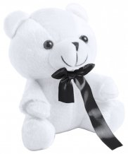 """Arohax"" plyšový medvídek, bílá"