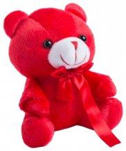 """""""Arohax"""" plyšový medvídek, červená"""
