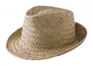 """Zelio"" slámový klobouk, béžová"