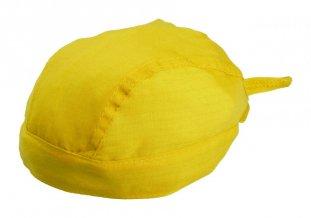 """""""Garfy"""" šátek na hlavu, žlutá"""