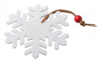 """""""Fantasy"""" vánoční figurka, sněhová vločka, bílá"""